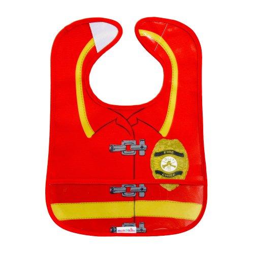 Munchkin Easy Wipe Bib Fireman