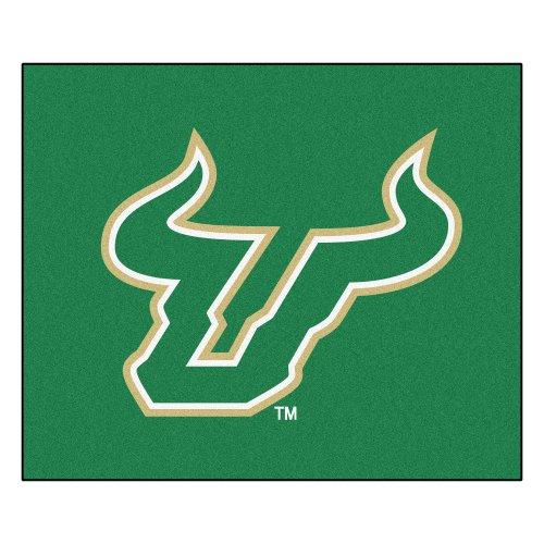 - NCAA University of South Florida Bulls Tailgater Mat Rectangular Outdoor Area Rug