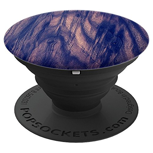 Pecan Pedestal (Pecan Wood - PopSockets Grip and Stand for Phones and Tablets)