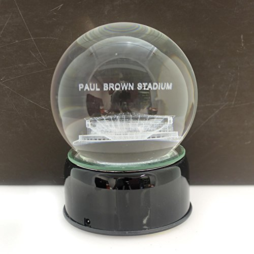 Full 90 Sports PAUL BROWN STADIUM CRYSTAL BALL Cincinnati Bengals Football 6002338PBS