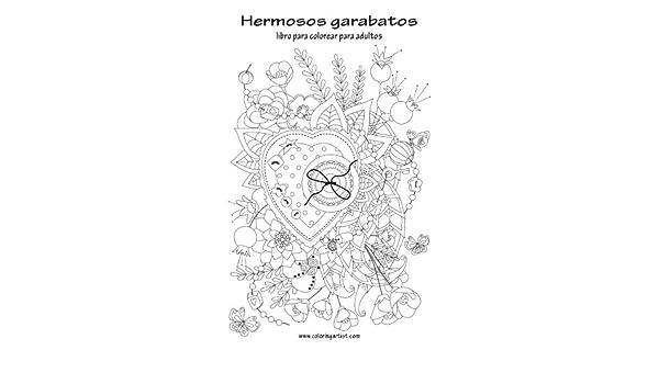 Amazon.com: Hermosos garabatos libro para colorear para adultos 1 ...