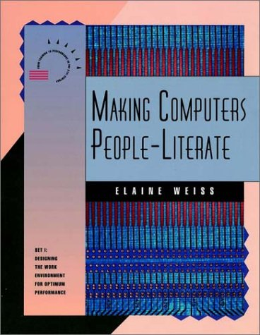 Making Computers People-Literate (A PUBLICATION IN THE NSPI) (Set 1)