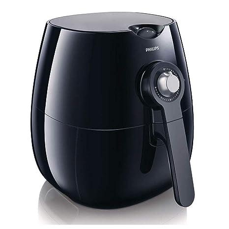 Philips HD9220/20 - AirFryer, freidora saludable por aire caliente, fríe, tuesta, asa y hornea, 800g de capacidad, color negro