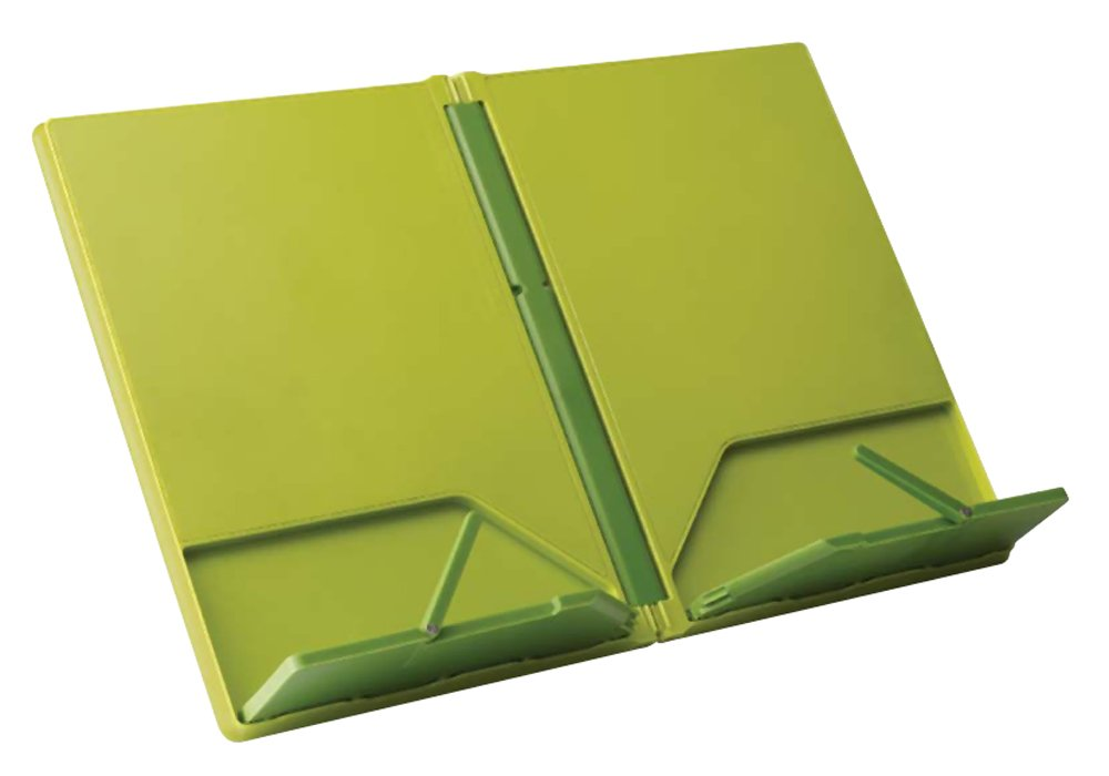 Joseph Joseph CookBook Compact Folding Bookstand, Green and Dark Green by Joseph Joseph