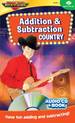 Cd Addition - Addition & Subtraction Country Audio CD and Book by Rock 'N Learn