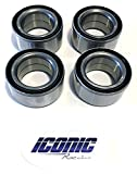 08-09 Polaris RZR 800 800S BOTH Front and Rear Wheel Bearings Qty. 4 (Built 12-31-09 and before with OEM hubs)