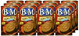 B & M Bread Brown PLlain, 16 OZ - Pack of 12