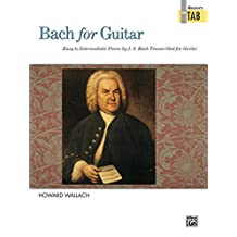 Bach for Guitar: Masters in TAB: Classical Guitar Sheet Music Collection