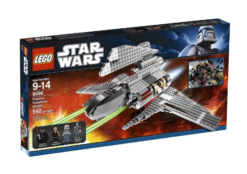 LEGO Star Wars Emperor Palpatine's Shuttle (8096) (Legos Star Wars Imperial Shuttle)