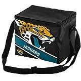 Jacksonville Jaguars Big Logo Stripe 6 Pack Cooler