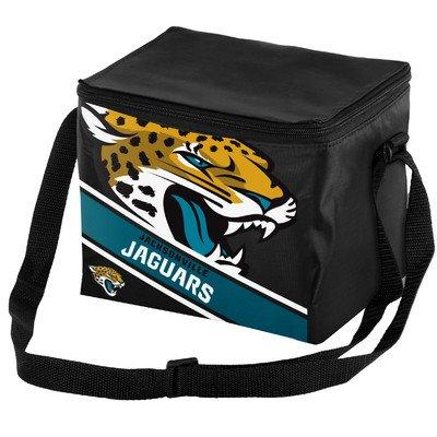 FOCO Jacksonville Jaguars Big Logo Stripe 6 Pack ()