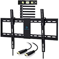 Perlesmith Tilt Low Profile TV Wall Mount Bracket for Most 32-70