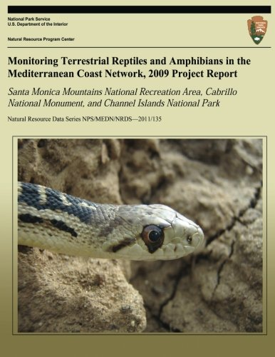 Monitoring Terrestrial Reptiles and Amphibians in the Mediterranean Coast Network, 2009 Project Report: Santa Monica Mountains National Recreation ... Resource Data Series NPS/MEDN/NRDS?2011/135)