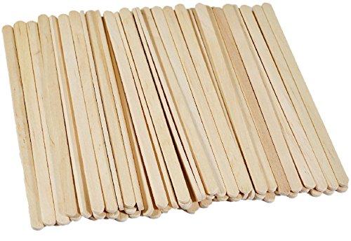 Wooden Coffee Stir Sticks Stirrers Wood Tea Beverage Stir Stick Stirrer,5.5 Inch Length,0.25 Inch Width,500 Pcs (500) ()