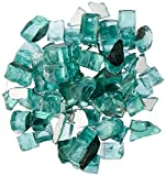 Dragon Glass 1/2″ 10 lb. Green Reflective Fire Glass
