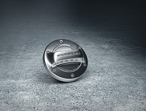 Porsche Aluminum Look Gas Cap by Porsche
