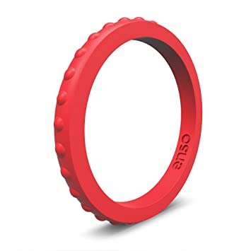Amazoncom Enso Studded Silicone Ring by Enso Rings Functional