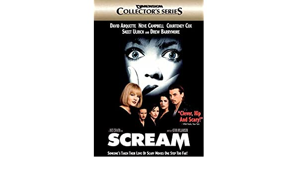 Amazon.com: Scream POSTER Movie (27 x 40 Inches - 69cm x 102cm) (1996) (Style D): Posters & Prints