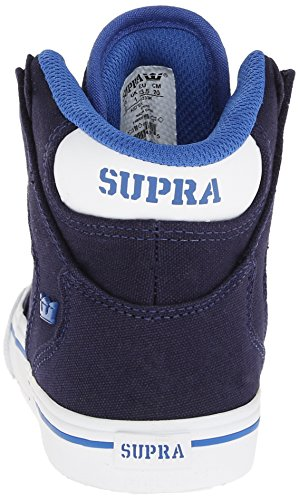 mode Baskets Supra Blue Navy garçon White Vaider Bleu Fqw454Zx