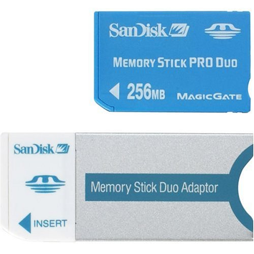 (SanDisk 256 MB MemoryStick Pro Duo ( SDMSPD-256-A10 ))