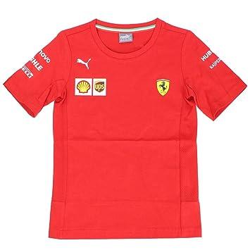 Scuderia Ferrari Kids 2019 F1™ Camiseta del Equipo Kids: Amazon ...
