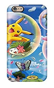 Sanp On Case Cover Protector For Iphone 6 (pokemon)