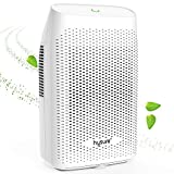 Hysure 2000ml Large Dehumidifier Portable Electric Dehumidifiers for Home Powerful Air Mositure Absorber