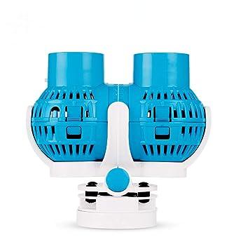 ZLQF Ble Acuario Eje De La Bomba para Acuario Estanque Pecera Fuente Circulación de Agua Dulce y Marino 8W 6000L/H: Amazon.es: Productos para mascotas
