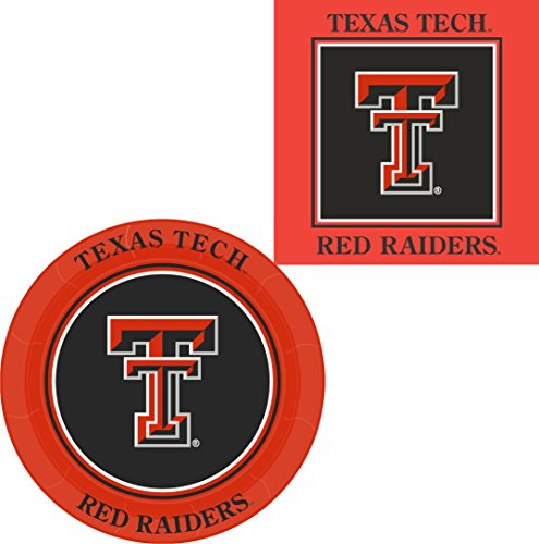 Westrick Texas Tech Red Raiders Napkins & Plates - 64 pieces