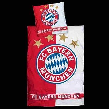 FC Bayern M/ünchen Bettw/äsche rot//wei/ß Biber