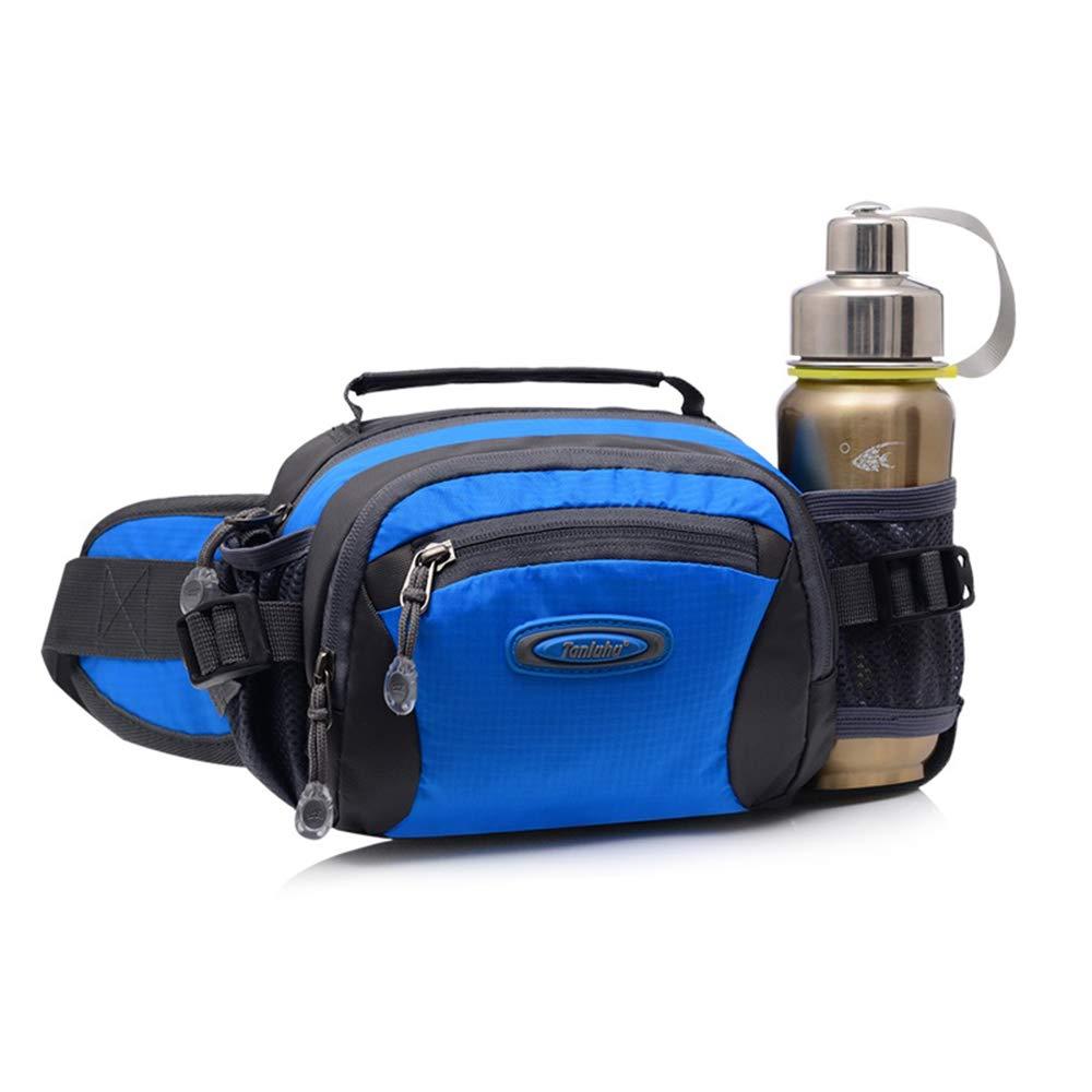 TXDY Waist Pack Running Hiking Waist Bag Camping Waist Packs Climbing Waist Bags with Bottle Holder for Cycling Dog Walking Women Men Sports Camping