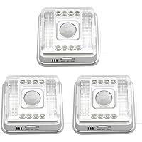 3X 8 LED Lámpara IR Infrarrojo Sensor A