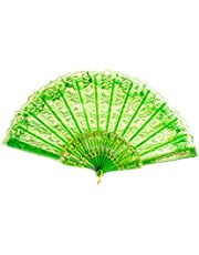 Lace Hand Fan - Foldable Fan - Party - Summer - Dance - Various Colours and Designs