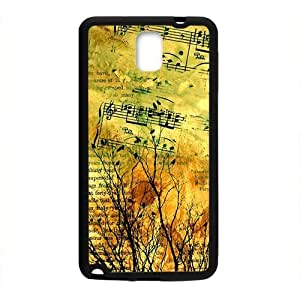Artistic aesthetic music and tree fashion phone For Casesamsung galaxy note3