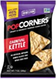 Medora Snacks PopCorners Popcorn Chips, Carnival Kettle, 7 Ounce (Pack of 12)