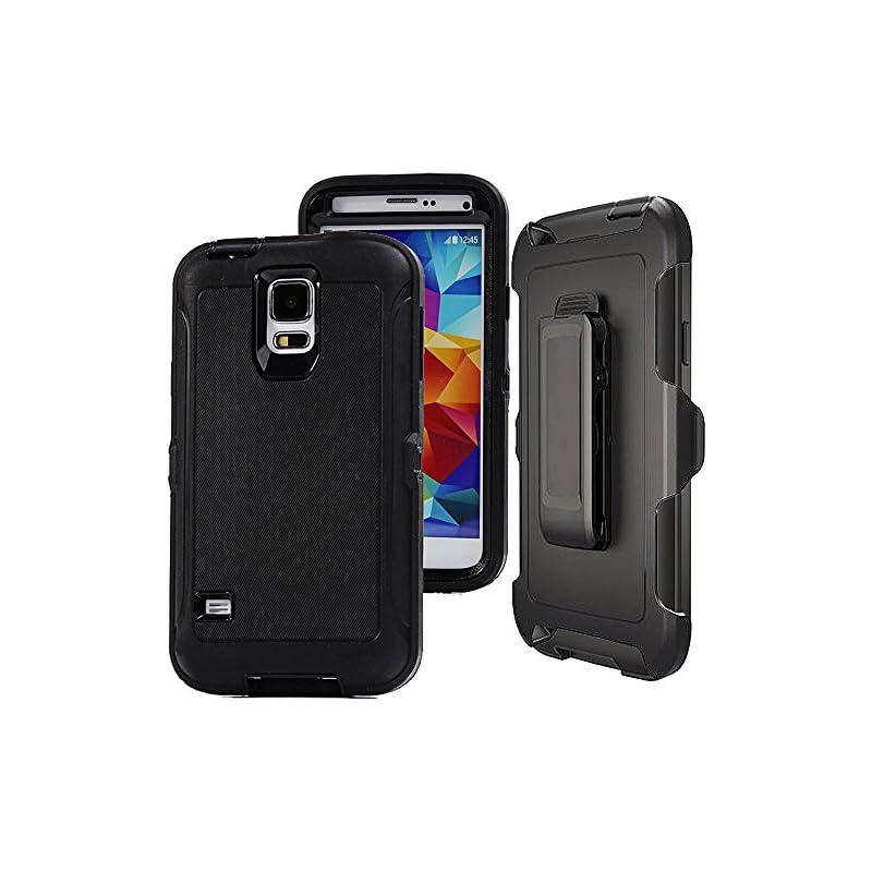 Galaxy S5 Case,S5 Holster Case,Auker Hea