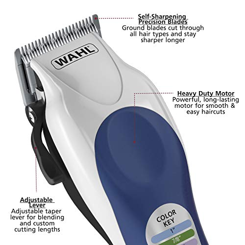 Wahl Color Pro Complete Hair Cutting Kit, #79300-4...