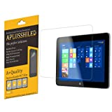 Aplusshield HP OMNI 10 Tablet Premium High Definition (HD) Clear Screen Protector with Lifetime Replacement Warranty [3-PACK] - Retail Packaging