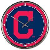 "WinCraft MLB Chrome Clock, 12"" x 12"""