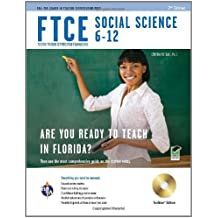 FTCE Social Science 6-12 w/ CD-ROM (FTCE Teacher Certification Test Prep)