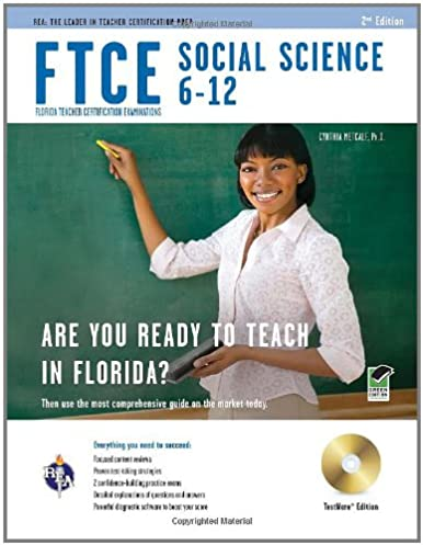 ftce social science 6 12 w cd rom ftce teacher certification test rh amazon com Science Study Guide Answers Science Study Guides Book