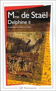 Delphine, tome 2 par Madame de Staël