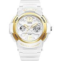 KXAITO Ladies Watch LED Waterproof Rose Gold White Women Watch Top Brand Quartz Watch Sports fashion Girls Wrist Watches