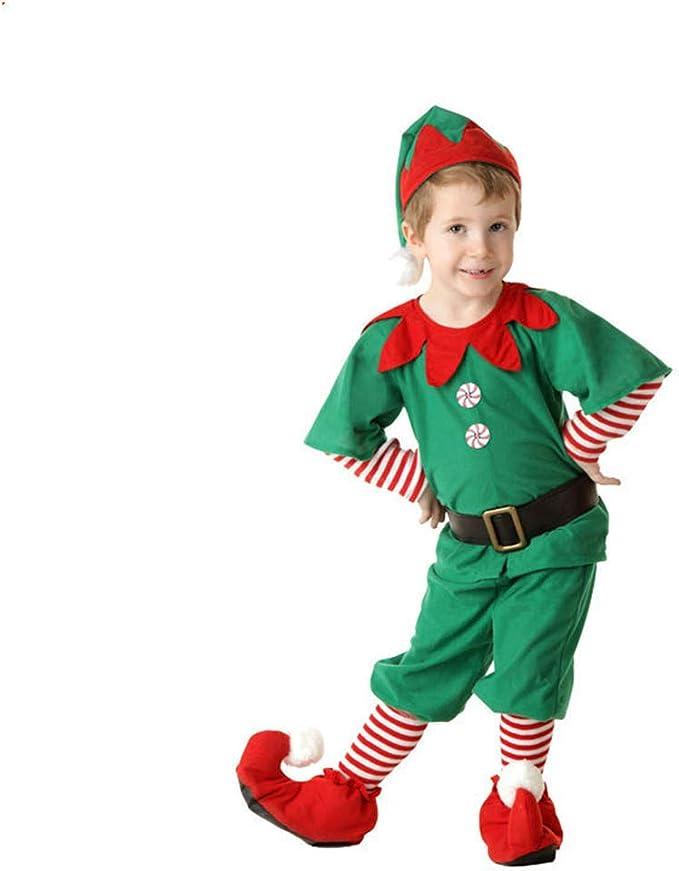 fagginakss Disfraces de Navidad para Adultos y niños Traje de ...