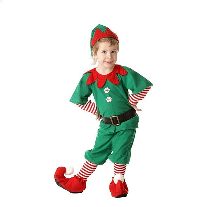 fagginakss Disfraces de Navidad para Adultos y niños Traje ...