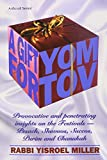 img - for A Gift for Yom Tov: Provocative and Penetrating Insights on the Festivals - Pesach, Shavuos, Succos, Purim and Chanukah book / textbook / text book