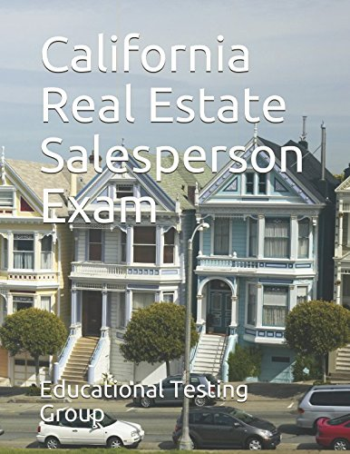 California Real Estate Salesperson Exam ebook