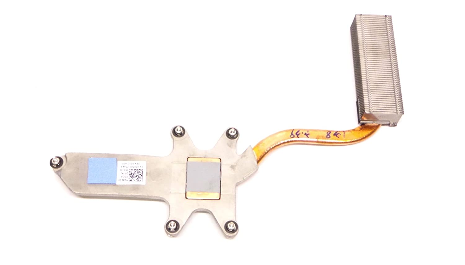 Genuine F070C Dell Latitude E5500 Laptop CPU Cooling Heatsink Compatible Part Numbers: F070C