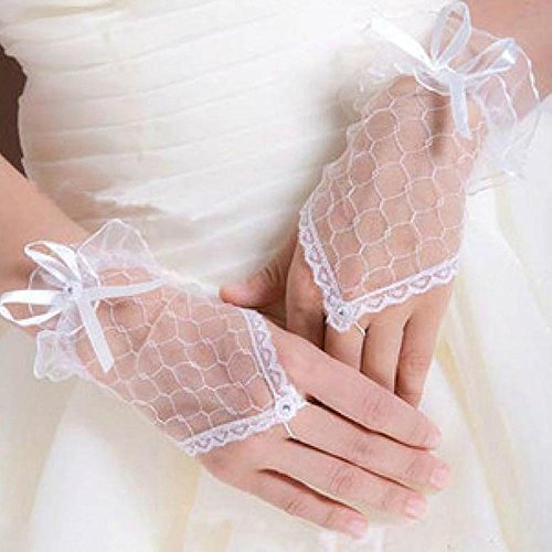 Charming Beautiful Fingerless Wedding Evening