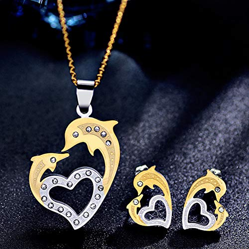 Dolphin Jewelry Set-Welegant 18K Gold Plated